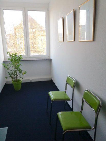 Anwaltskanzlei Fuss Eingangsbereich